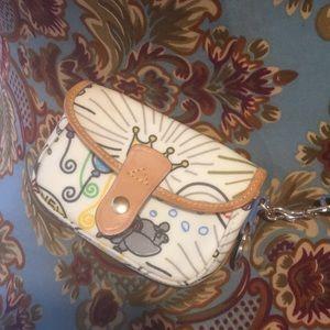 Disney Dooney sketch wristlet Disney sketch clutch